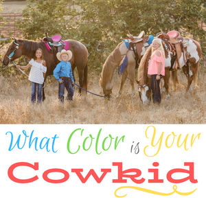 "Part 1 of 5: Your Child's ""Personality Color"" and Their Horse Journey"