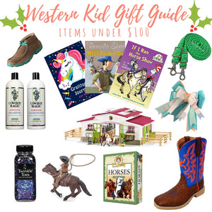 Western Kid Holiday Gift Guide - $100 or Less!