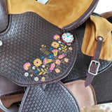 The Fiesta - Youth Saddle PRE-ORDER, Various Sizes, Barrel & Roper