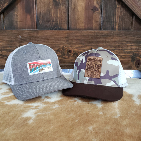 Riding Free Tack Snapback Hats