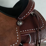 Buckaroo Buckstitch Saddle - Traditional Collection
