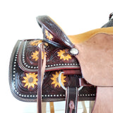 Adult & Youth Sunflower Sweetheart Saddle - Traditional Collection