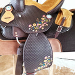 FIESTA SET - The Fiesta Youth Saddle | Headstall & Breast Collar