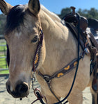 Sunflower Sweetheart One Ear Headstall and Breast Collar Set