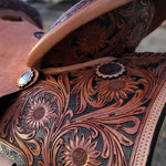 Sunflower Darlin' Adult Saddle - Traditional Collection