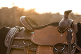 Youth Buckaroo Buckstitch Saddle - Traditional Collection