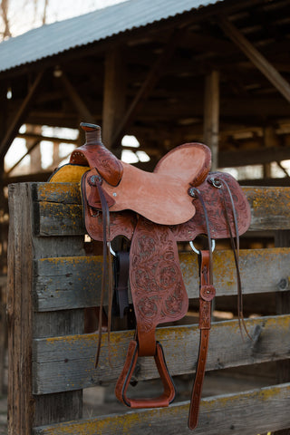 Adult Ranch Hand Saddle - Traditional Collection