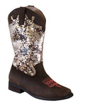 Riding Free Sequin Boots - Ships NOW