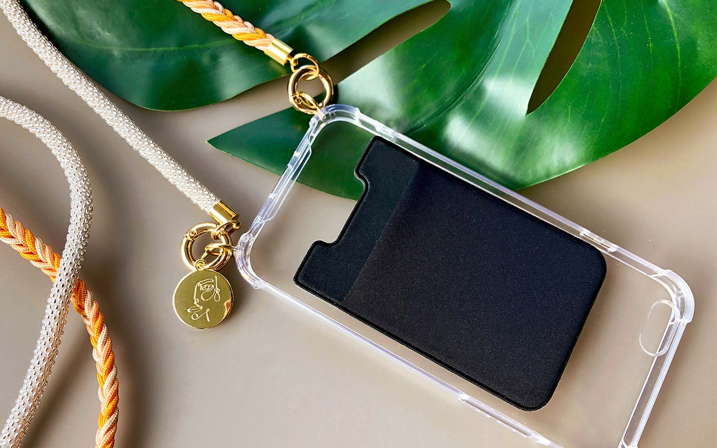 Cardholder für Handykette / Necklace Case