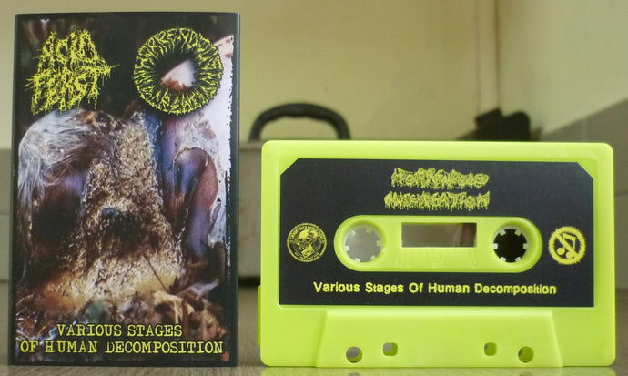 ACID FEAST / HORENDOUS MISCREATION - Split Tape