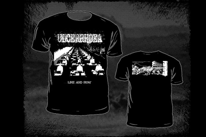 ULCERRHOEA - Line And Row  T-shirt