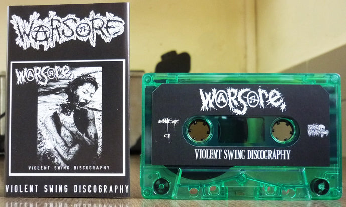 WARSORE - Violent Swing Discography MC Tape (C-105)