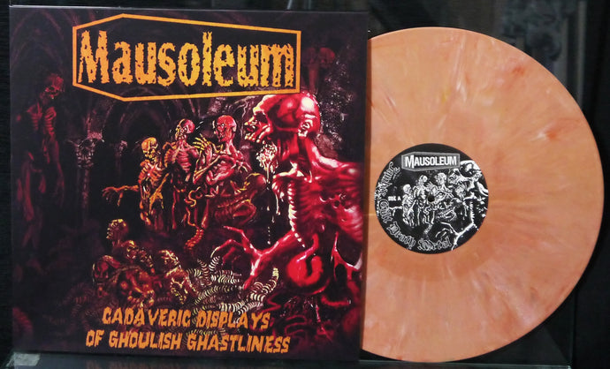 MAUSOLEUM - Cadaveric Displays Of Ghoulish Ghastliness 12