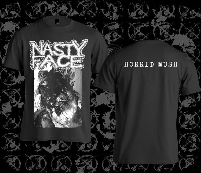 NASTY FACE - Horrid Mush T-shirts