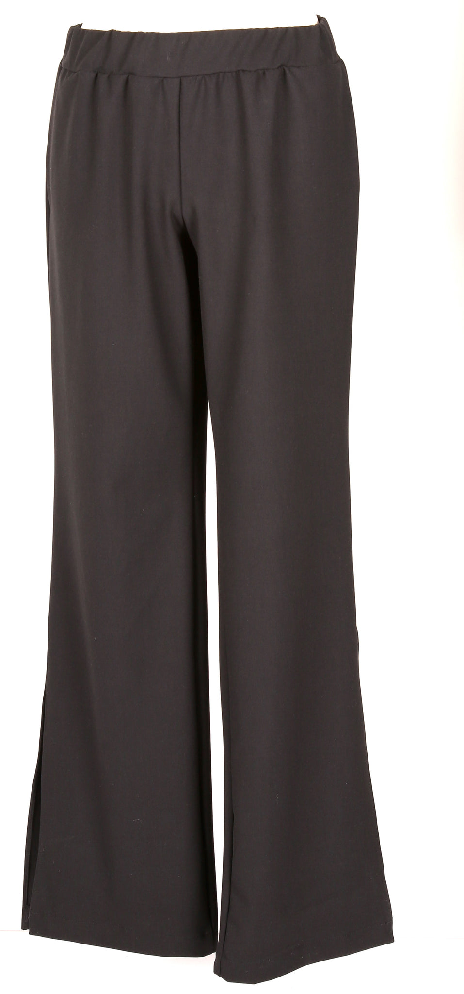 Black  trousers with splits
