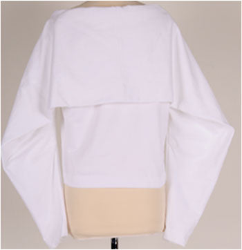 Rectangle sleeve blouse