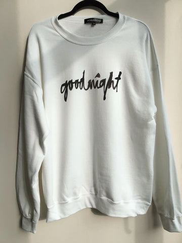 Sweatshirt   GOODNIGHT