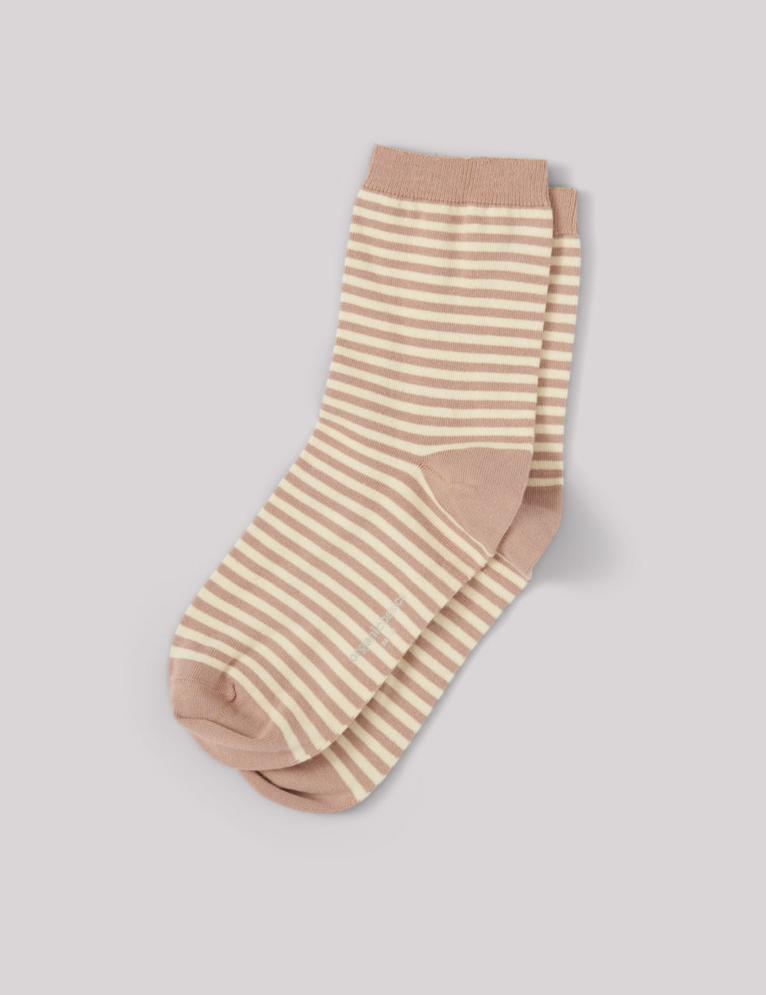 Organic Cotton Color Striped Socks 5-pack