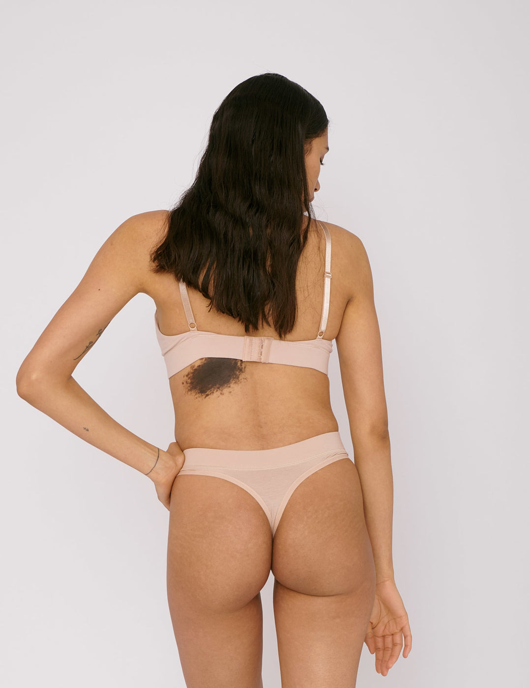 Organic Cotton Thong 2-pack