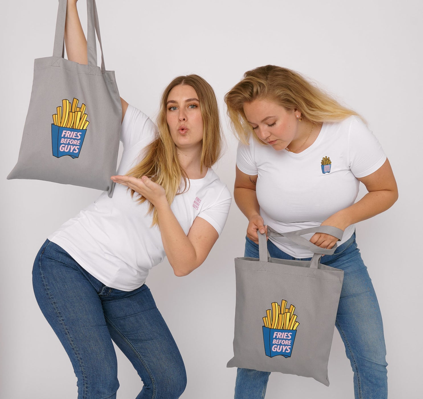 Organic Cotton Fries Tee