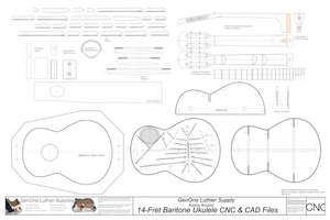 2D CNC Information Acoustic Instruments