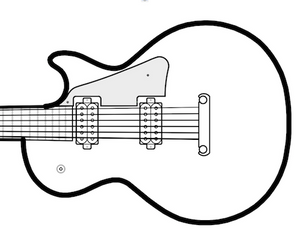 Solid Body Electric Guitar Plans