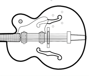 Hollow Body Electric Guitar Plans