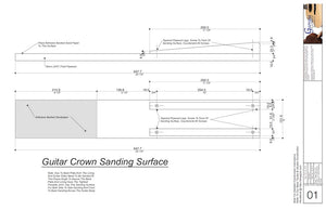 Crown Sanding Jig for Acoustic Guitar