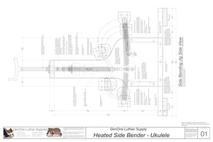 Heated Side Bender Plans-Ukulele Assembled Jig