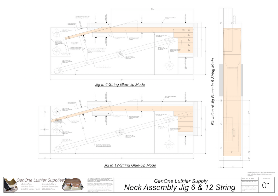 Neck Assembly Jig Plans