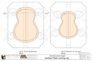 Plate Joining Jig Plans - Ukulele