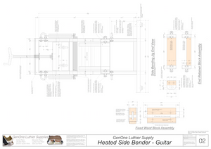 Heated Side Bender Plans-Guitar