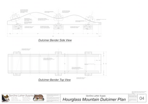 Heated Side Bender Plans-Hourglass Mountain Dulcimer