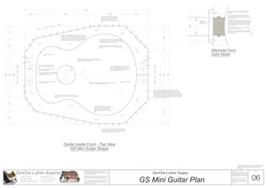 GS Mini Guitar Form Package Top Page