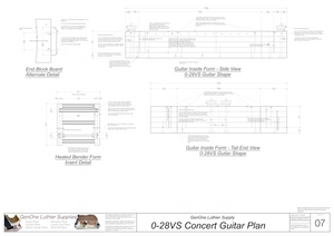 0-28vs Guitar Plans Inside Form Side Views