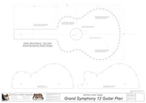 Grand Symphony 12-String Guitar Form Package Workboard