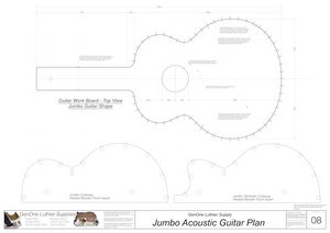 J200 Guitar Form Package
