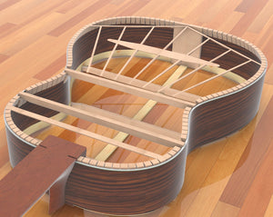 1937 Hermann Hauser Guitar Plans