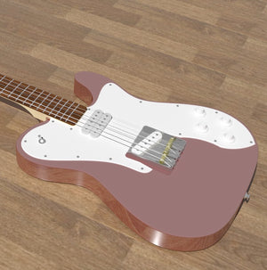 Solid Body Electric Guitar Plan #1