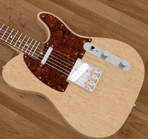 Solid Body Electric Guitar Plan #3