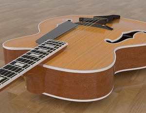 Benedetto 17 Archtop Guitar Plans