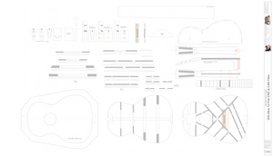 000-28vs Guitar Plans 2d CNC Files