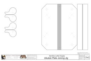 Plate Joining Jig Plans - Ukulele CNC Content