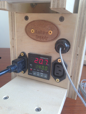 GLS Temperature Controller: Shown In Bender
