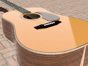 Dreadnought V Brace Guitar Plans