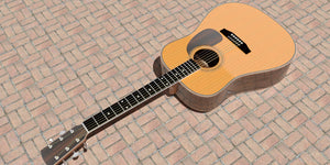 Dreadnought Guitar Plans Overall 2
