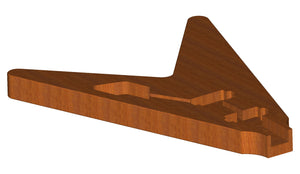 Gibson Flying V 3D CNC Files Body File