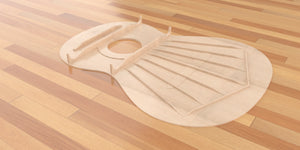 Grand Classical 3d CNC Files, Classical Guitar #3 Torres Bracing in Place