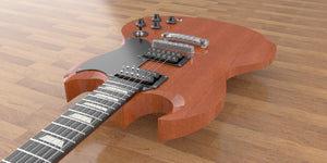 Gibson SG Standard Body View 3