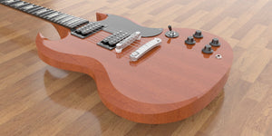 Gibson SG Standard Body View